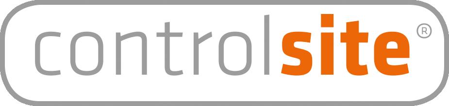 Logo Controlsite Wit